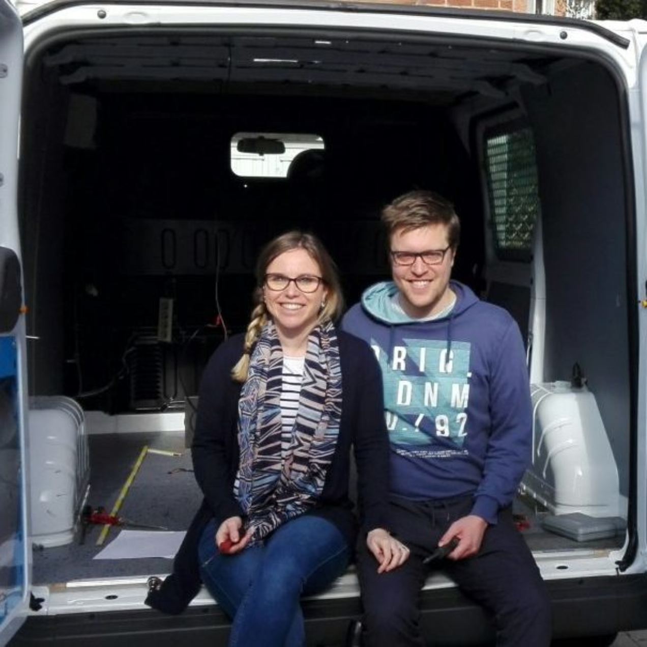 On a acheté un van !